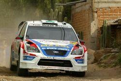 Gareth MacHale and Paul Nagle, Ford Focus RS WRC