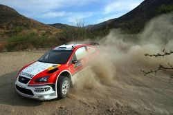 Luis Perez Companc y Jose Volta, Munchiís Ford World Rally Team, Ford Focus RS WRC