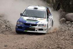 Балаш Беник и Ласло Бункоши, OMV Bixxol Rally Team Mitsubishi Lancer Evo IX
