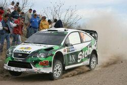 Jari-Matti Latvala y Miikka Anttila, Stobart M-Sport Ford Rally Team, Ford Focus WRC