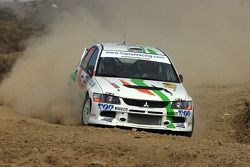Martin Rauam y Kristo Kraag, Martin Rauam Mitsubishi Lancer Evolution IX