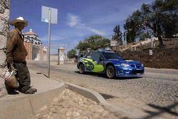 Petter Solberg y Phil Mills, Subaru WRT Subaru Impreza 2007 WRC