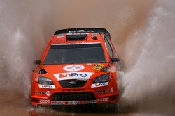 Henning Solberg y Cato Menkerud, Stobart M-Sport Ford Rally Team, Ford Focus WRC