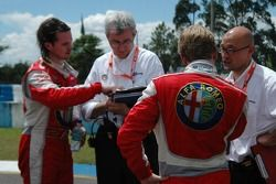 Oliver Tielemans, N Technology, Alfa Romeo 156 and James Thompson, N Technology, Alfa Romeo 156