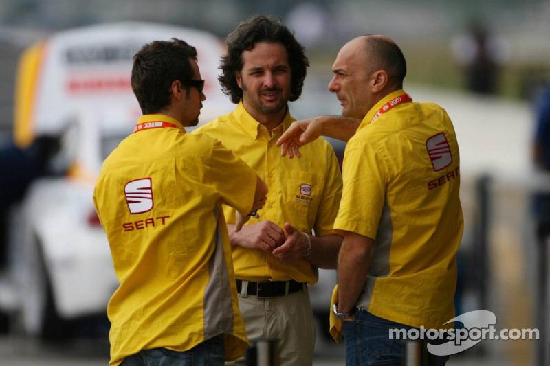Tiago Monteiro, SEAT Sport, SEAT Leon, Yvan Muller, SEAT Sport, Seat Leon eGabriele Tarquini, SEAT