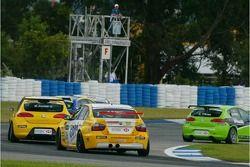Stefano D'Aste, Wiechers Sport BMW, BMW 320si WTCC and Michel Jourdain, SEAT Sport, SEAT Leon