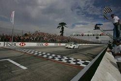 Le vainqueur, Augusto Farfus, BMW Team Germany, BMW 320si WTCC