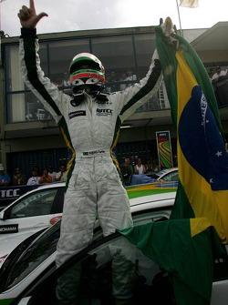 Le vainqueur Augusto Farfus, BMW Team Germany, BMW 320si WTCC