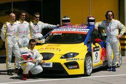 Seat Sport Drivers Presentation, Gabriele Tarquini, SEAT Sport, SEAT Leon, Michel Jourdain, SEAT Spo