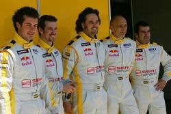 Michel Jourdain, SEAT Sport, SEAT Leon, Tiago Monteiro, SEAT Sport, SEAT Leon, Yvan Muller, SEAT Spo