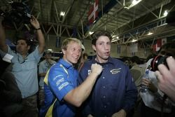 Petter Solberg et Travis Pastrana