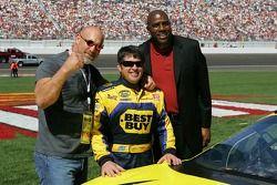 Bill Goldberg, Jeff Green et Magic Johnson