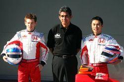 Anthony Davidson, Super Aguri F1 Team, Aguri Suzuki, Super Aguri F1 and Takuma Sato, Super Aguri F1,