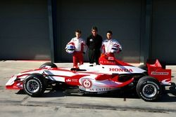 Anthony Davidson, Super Aguri F1 Team, Aguri Suzuki, Super Aguri F1 and Takuma Sato, Super Aguri F1, Super Aguri F1 Team, SA07, Launch