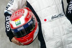 Casque de Kazuki Nakajima, Test Driver, Williams F1 Team