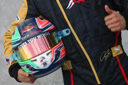 Casque de Vitantonio Liuzzi, Scuderia Toro Rosso