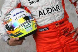 Casque de Adrian Sutil, Spyker F1 Team