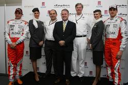Кристиан Альберс, Spyker F1 Team, Колин Коллес, руководитель команды Spyker F1 Team, Рональд Барротт