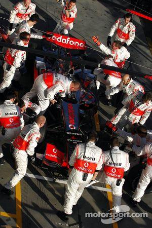 McLaren Mercedes, Pitstop Practice