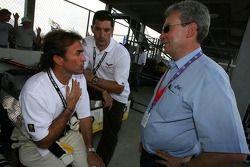 Olivier Beretta et Max Papis
