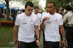 Fernando Alonso y Lewis Hamilton, McLaren Mercedes