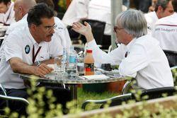 Mario Theissen et Bernie Ecclestone