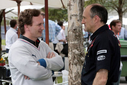 Christian Horner, Red Bull Racing, Sporting Director and Franz Tost, Scuderia Toro Rosso, Team Principal