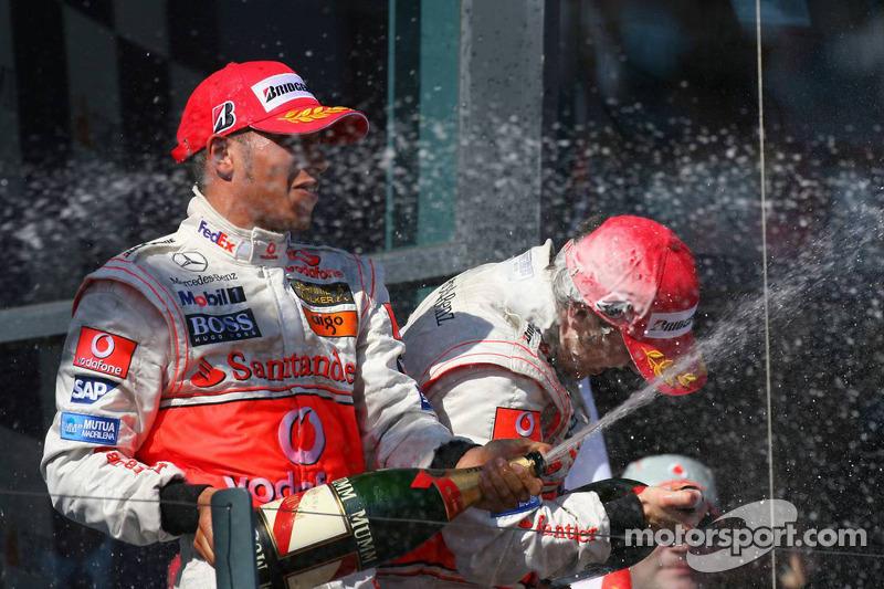 Lewis Hamilton, GP Australia 2007, McLaren