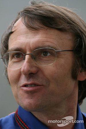 Dennis Chevrier, Renault F1 Team, Head of Engine Track Operations