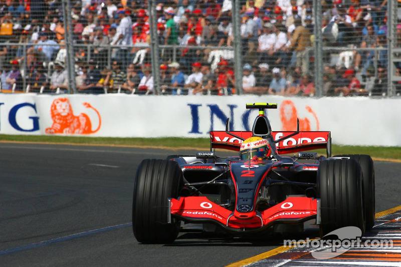 Debut: Lewis Hamilton, Australia 2007, 22 años