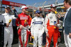 Интервью RTL - Нико Росберг, WilliamsF1 Team, Ральф Шумахер, Toyota Racing, Ник Хайдфельд, BMW Sauber F1 Team, Адриан Сутиль, Spyker F1 Team, Хейко Вассер