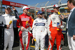 RTL Interview - Nico Rosberg, WilliamsF1 Team, Ralf Schumacher, Toyota Racing, Nick Heidfeld, BMW Sa