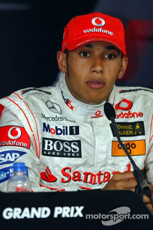 Pressekonferenz: 3. Lewis Hamilton, McLaren