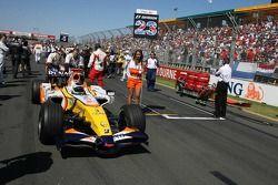 Giancarlo Fisichella, Renault F1 Team, R27