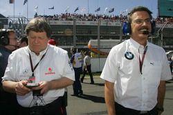 Dr. Mario Theissen et Norbert Haug