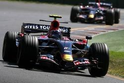 Vitantonio Liuzzi, Scuderia Toro Rosso; Scott Speed, Scuderia Toro Rosso