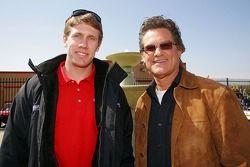 Carl Edwards and Kurt Russell