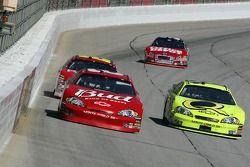 Dale Earnhardt Jr. and Paul Menard