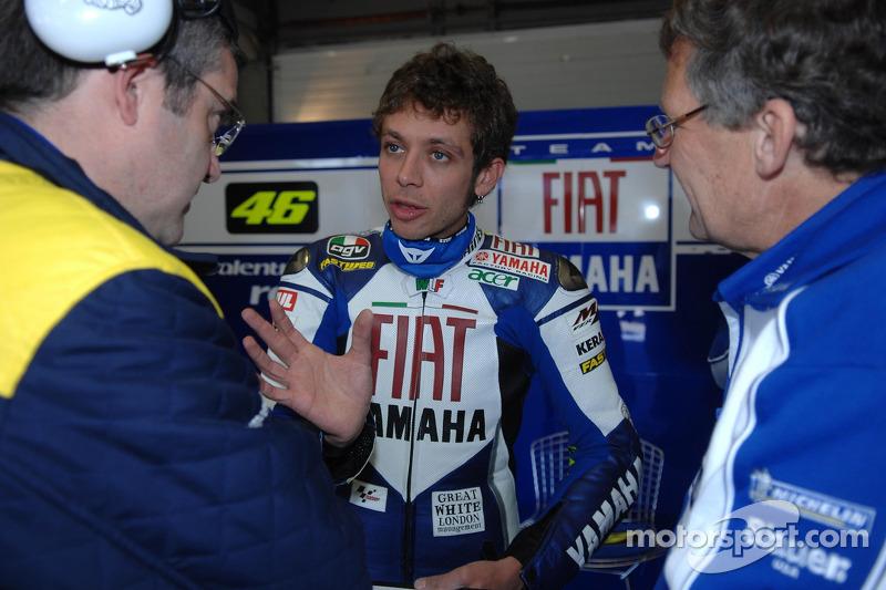 2007: Mais uma foto na Yamaha