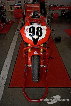 Jake Zemke's Honda CBR1000RR