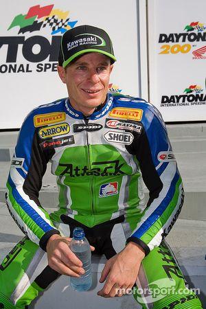 Ben Attard mécontent après avoir pris la deuxième place à Daytona Speedway