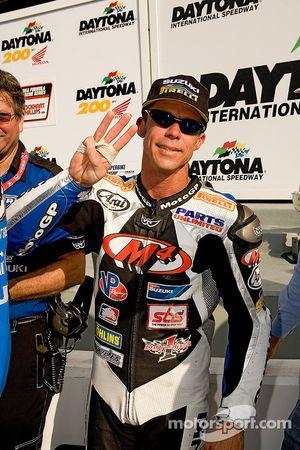 Michael Barnes : troisième place au 2007 Honda 200