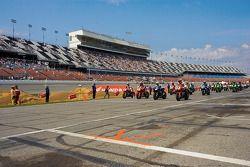 Starting grid at the Honda 200 in Daytona