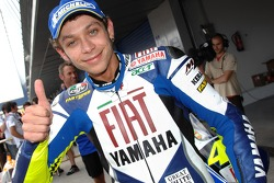 Valentino Rossi 2eme plus rapide aux qualifications
