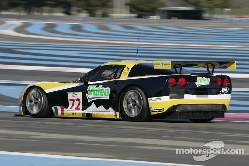 #72 Luc Alphand Aventures Corvette C6.R: Luc Alphand, Jérôme Policand