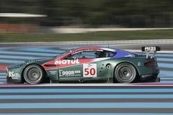 #50 Aston Martin Racing Larbre Aston Martin DBR9: Christophe Bouchut, Gabriele Gardel