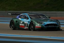 Aston Martin Racing Larbre Aston Martin DBR9: Patrick Bornhauser, Frederic Makowiecki