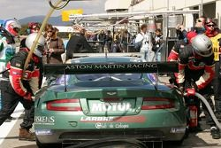 Zone des stands d'Aston Martin Racing