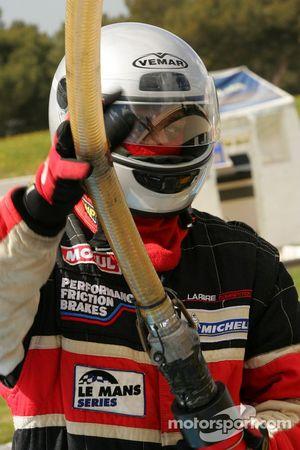Aston Martin Racing Larbre team member