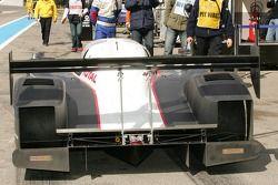 Team Peugeot Total pit area